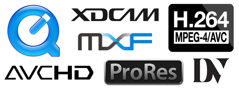 NLA Video Formats Image